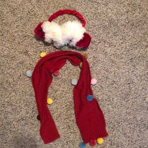 Other - Ear Muffs and scarf set